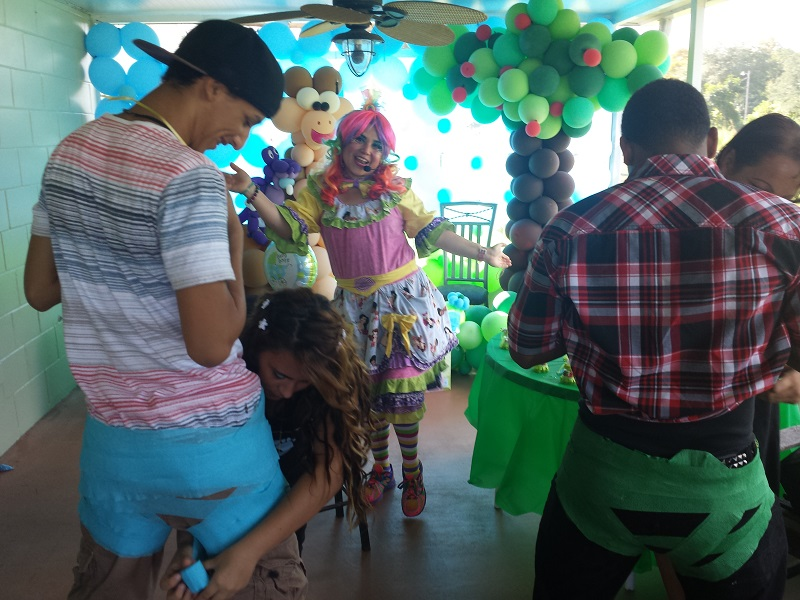 Tenchita the Clown Baby Shower!