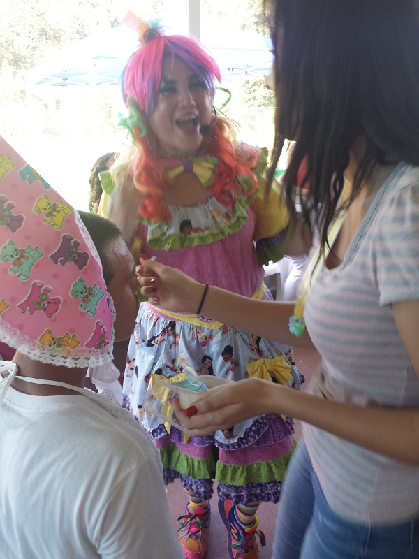 Call Tenchita the Clown for your next Baby Showers!