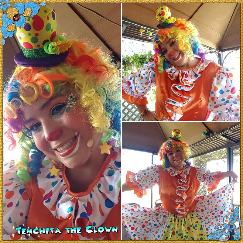 Call now to book Tenchita for your next Party