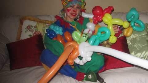Animal Balloons, Tenchita the Clown